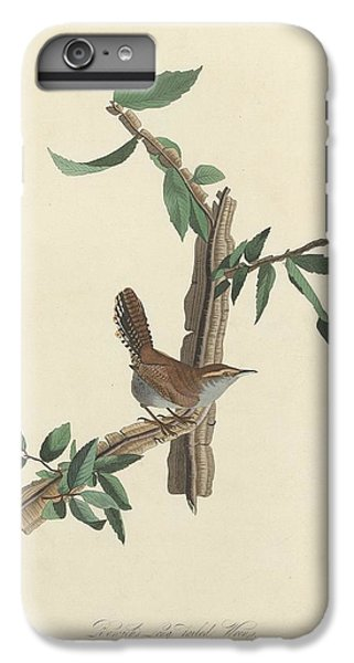 Bewick's Long-tailed Wren IPhone 6s Plus Case by John James Audubon
