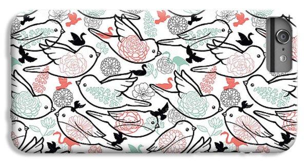 Bird Solid IPhone 6s Plus Case by Elizabeth Taylor
