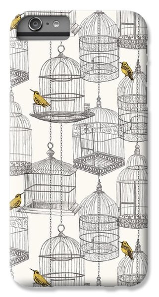 Birdcages IPhone 6s Plus Case by Stephanie Davies