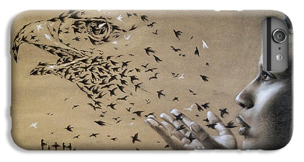 Birds Of Poetry  IPhone 6s Plus Case by Fithi Abraham