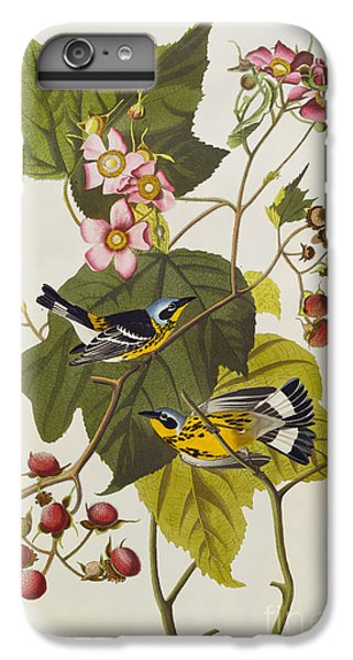 Black And Yellow Warbler IPhone 6s Plus Case by John James Audubon