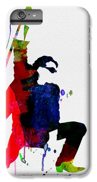 Bono Watercolor IPhone 6s Plus Case by Naxart Studio