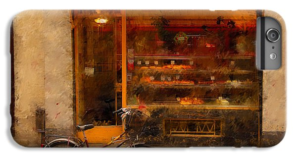 Boulangerie And Bike 2 IPhone 6s Plus Case by Mick Burkey