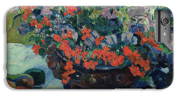 Bouquet Of Flowers IPhone 6s Plus Case by Paul Gauguin