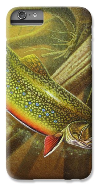 Brook Trout Cover IPhone 6s Plus Case by JQ Licensing