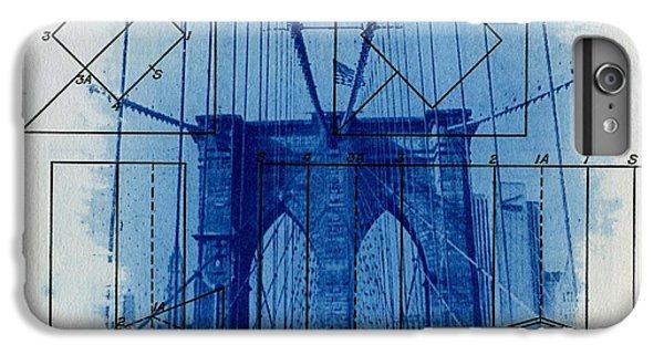 Brooklyn Bridge IPhone 6s Plus Case by Jane Linders