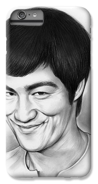 Bruce Lee IPhone 6s Plus Case by Greg Joens