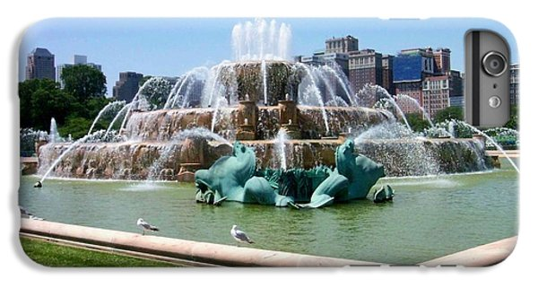 Buckingham Fountain IPhone 6s Plus Case by Anita Burgermeister