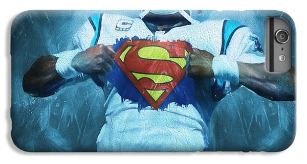 Cam Newton Superman IPhone 6s Plus Case by Dan Sproul