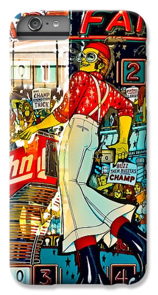 Captain Fantastic - Pinball IPhone 6s Plus Case by Colleen Kammerer