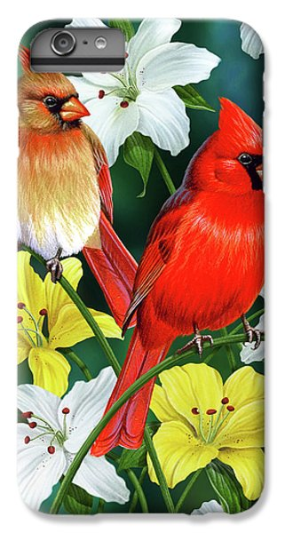 Cardinal Day 2 IPhone 6s Plus Case by JQ Licensing