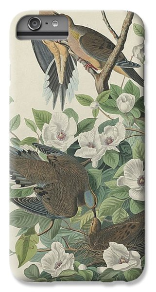 Carolina Pigeon Or Turtle Dove IPhone 6s Plus Case by John James Audubon