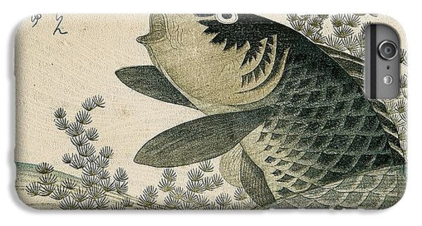 Carp Among Pond Plants IPhone 6s Plus Case by Ryuryukyo Shinsai