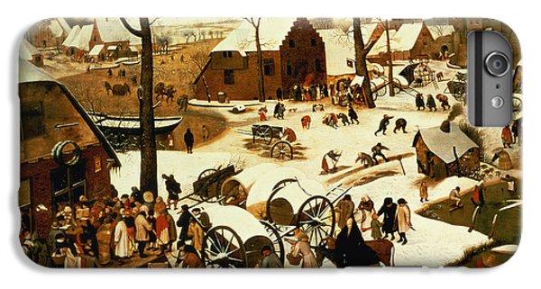 Census At Bethlehem IPhone 6s Plus Case by Pieter the Elder Bruegel