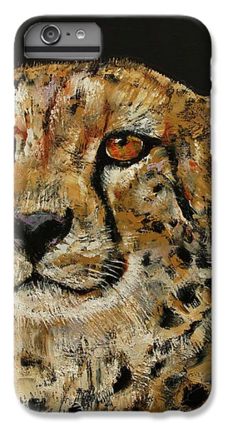 Cheetah IPhone 6s Plus Case by Michael Creese