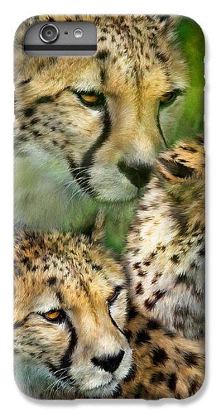 Cheetah Moods IPhone 6s Plus Case by Carol Cavalaris
