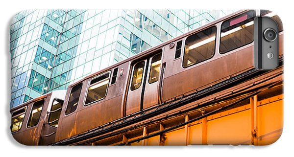 Chicago L Elevated Train  IPhone 6s Plus Case by Paul Velgos