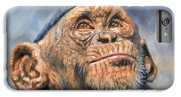 Chimp IPhone 6s Plus Case by David Stribbling