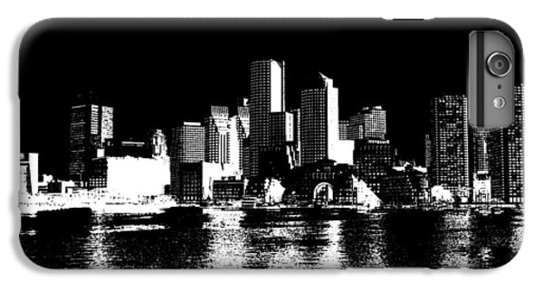 City Of Boston Skyline   IPhone 6s Plus Case by Enki Art