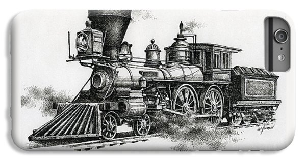 Classic Steam IPhone 6s Plus Case by James Williamson