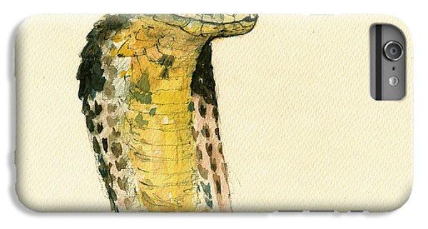 Cobra Snake Poster IPhone 6s Plus Case by Juan  Bosco