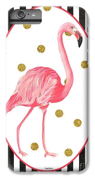 Contemporary Flamingos 2 IPhone 6s Plus Case by Debbie DeWitt
