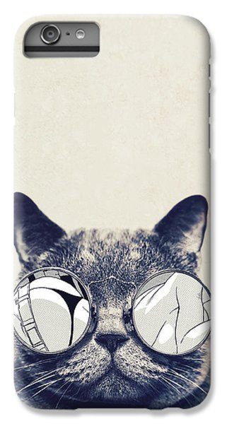 Cool Cat IPhone 6s Plus Case by Vitor Costa