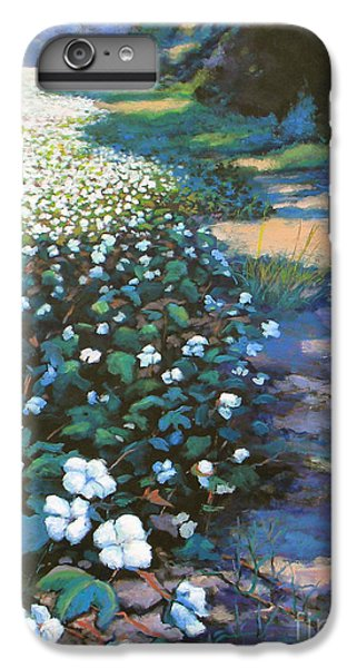 Cotton Field IPhone 6s Plus Case by Jeanette Jarmon