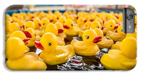 County Fair Rubber Duckies IPhone 6s Plus Case by Todd Klassy