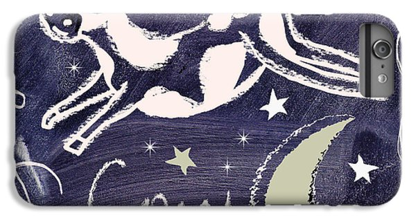 Cow Jumped Over The Moon Chalkboard Art IPhone 6s Plus Case by Mindy Sommers
