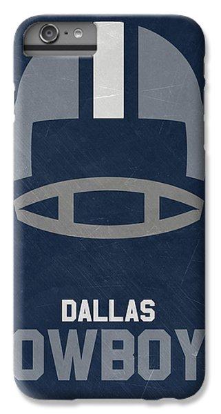 Dallas Cowboys Vintage Art IPhone 6s Plus Case by Joe Hamilton