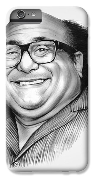 Danny Devito IPhone 6s Plus Case by Greg Joens