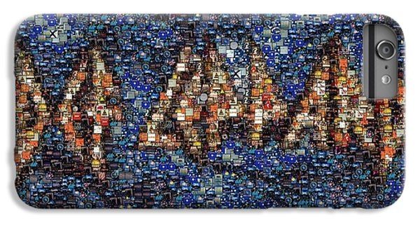 Def Leppard Albums Mosaic IPhone 6s Plus Case by Paul Van Scott
