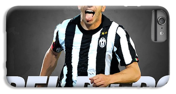 Del Piero IPhone 6s Plus Case by Semih Yurdabak