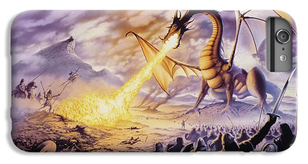 Dragon Battle IPhone 6s Plus Case by The Dragon Chronicles - Steve Re