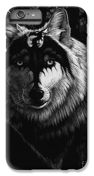 Dragon Wolf IPhone 6s Plus Case by Stanley Morrison