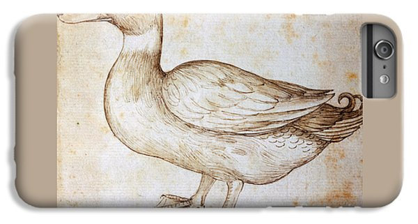 Duck IPhone 6s Plus Case by Leonardo Da Vinci