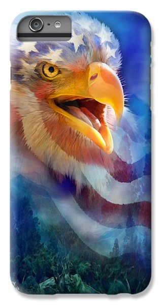 Eagle's Cry IPhone 6s Plus Case by Carol Cavalaris