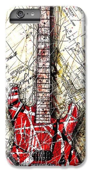 Eddie's Guitar Vert 1a IPhone 6s Plus Case by Gary Bodnar