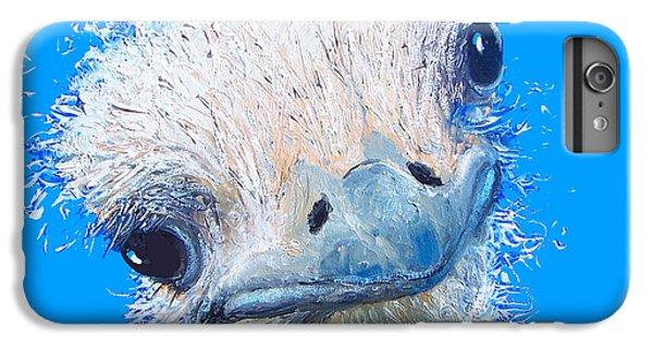 Emu Painting IPhone 6s Plus Case by Jan Matson
