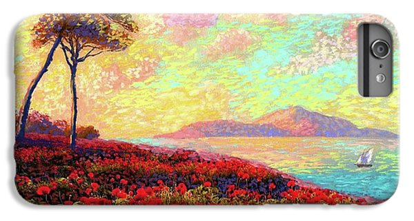 Enchanted By Poppies IPhone 6s Plus Case by Jane Small