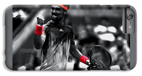 Fabio Fognini IPhone 6s Plus Case by Brian Reaves