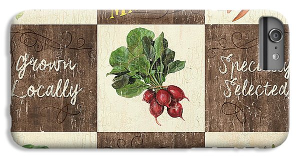 Farmer's Market Patch IPhone 6s Plus Case by Debbie DeWitt