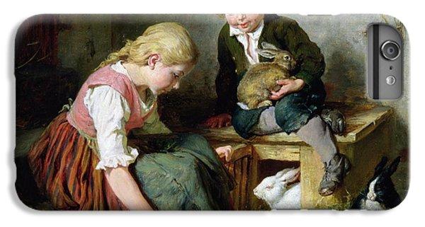 Feeding The Rabbits IPhone 6s Plus Case by Felix Schlesinger