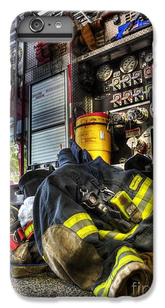 Fireman - Always Ready For Duty IPhone 6s Plus Case by Lee Dos Santos