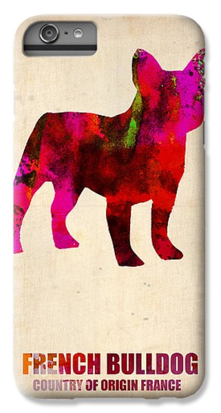 French Bulldog Poster IPhone 6s Plus Case by Naxart Studio