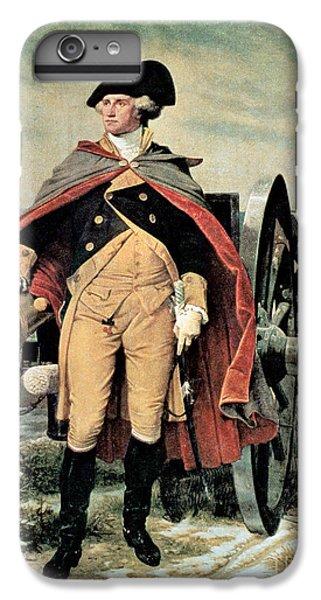 George Washington At Dorchester Heights IPhone 6s Plus Case by Emanuel Gottlieb Leutze