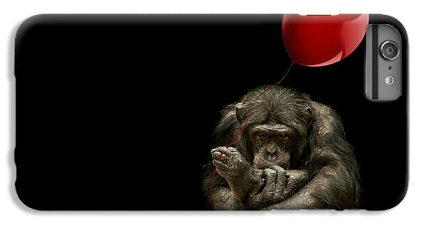 Girl With Red Balloon IPhone 6s Plus Case by Paul Neville