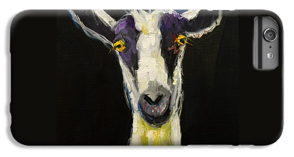 Goat Gloat IPhone 6s Plus Case by Diane Whitehead
