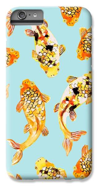 Goldfish IPhone 6s Plus Case by Uma Gokhale